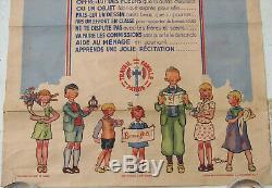 1 X Affiche. 1941. Fete Des Meres. Le Marechal. 79 X 80. Alain Saint-ogan