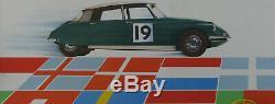 1 X Affiche Citroën ID 19. Championne D'europe. Format 103 X 87 CM