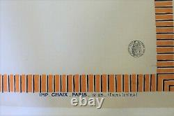 AFFICHE 1925 CITROEN EXPOSITION VOITURES B2 10HP B10 B12 C 5HP TREFLE 120X80 cm