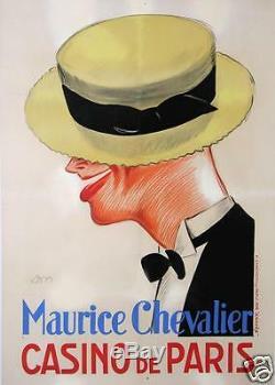 AFFICHE ANCIENNE 1926 MAURICE CHEVALIER CASINO DE PARIS par DON