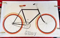 Affiche Ancienne Bicyclette