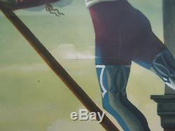 Affiche Ancienne Vintage Poster Venezia Venise Am Cassandre 1951