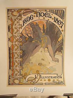 Affiche Illustration Mucha 1897 Superbe