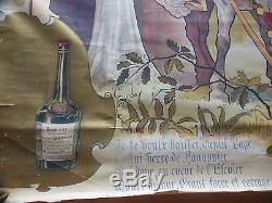 Affiche Litho Originale Liqueur Hanappier -imp. Camis (no Mucha) Vin Spiritueux