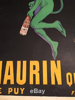 Affiche Maurin Quina Leonetto Cappiello Entoille 1906 Orignal