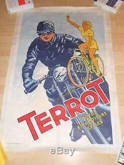 Affiche Originale Cycle Terrot