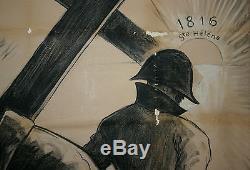 AFFICHE SECONDE GUERRE MONDIALE, ANTI ALLIE, FRANCE Vs GRANDE BRETAGNE 1941