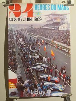 Affiche 24h Du Mans 1969