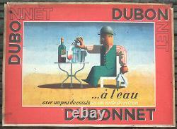 Affiche Ancienne Art Deco Dubo Dubon Dubonnet A M Cassandre 1935