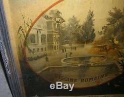 Affiche Ancienne Authentique de voyage des années 1920, Evaux les Bains