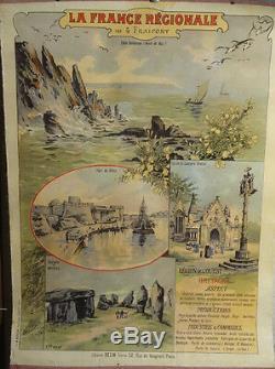 Affiche Ancienne Bretagne Fraipont