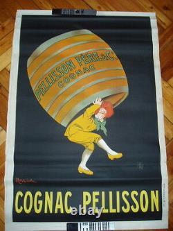 Affiche Ancienne Cappiello Cognac Pelisson