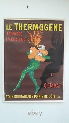 Affiche Ancienne Cappiello Le Thermogène