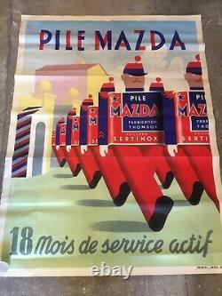 Affiche Ancienne Mazda 1939