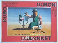 Affiche Ancienne Pub Dubo Dubon Dubonnet Cassandre 1935
