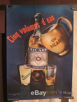 Affiche Ancienne Ricard Deco