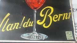 Affiche Ancienne original Vlan Du Berni
