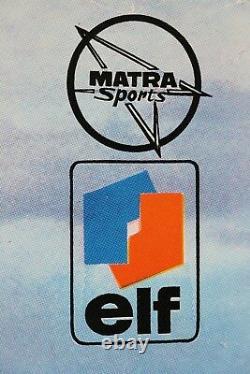 Affiche Automobile Garage Matra 530 Sx LX Elf Ford Simca Djet Murena Espace 1970