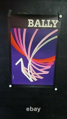 Affiche Bally Auriac Graphique Deco 56x37cm