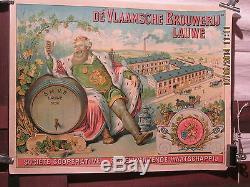 Affiche Biere Flamande Belgique