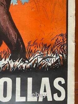 Affiche CAFE COLLAS Perles des Indes Le Meilleur de tous les Cafés Éléphant 1927