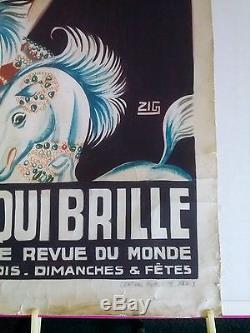 Affiche CASINO de PARIS. MISTINGUETT