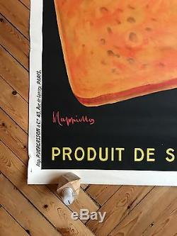 Affiche Cappiello Biscottine