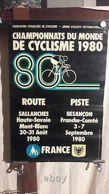 Affiche Cyclisme Championnat De Monde Graphique