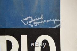 Affiche DOMERGUE, LES GENS CHIC SONT L'HIVER A MONTE-CARLO 1972, Offset Poster