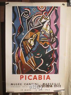 Affiche Galerie Francis Picabia Bal Negre Mourlot