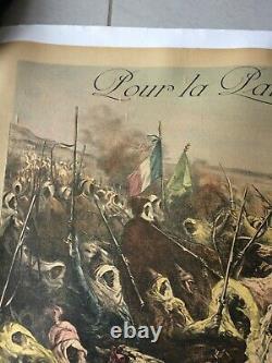 Affiche George Clairin Emprunt Algerie Tunisie Original French Poster