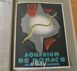 Affiche Jean Carlu Aquarium De Monaco 1928 Arts Et Metiers Graphiques 7