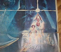 Affiche La Guerre Des Etoiles 1977 Star Wars George Lucas Harison Ford
