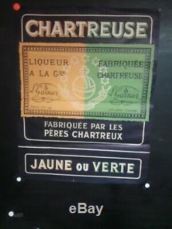 Affiche Liqueur Chartreuse Texte