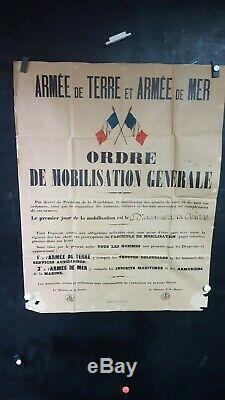 Affiche Mobilisation 14-18 2 Aout