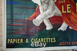 Affiche ORIGINALE de CAPPIELLO JE NE FUME QUE LE NIL 1912 L' Éléphant