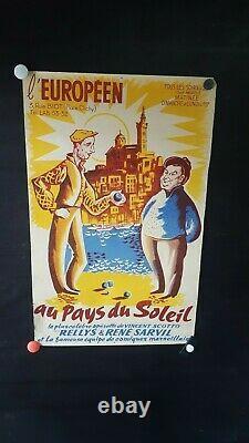 Affiche Operette Marseille Petanque Vincent Scotto