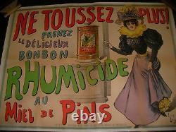 Affiche Originale Ancienne Luc Beguey Rhumicide