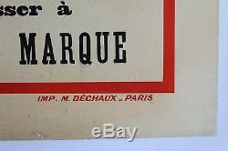 C4 Pierre Affiche Rosalie Originale 1932 Gap Citroen Barcelonette Louys dBoCrex