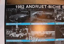 Affiche Originale Poster Ferrari 308 Gtb Pioneer Andruet Biche Tour France Auto