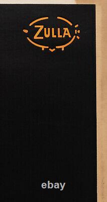 Affiche Originale Zulla Liqueur Izarra Alcool Pays Basque 1934