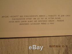 Affiche Perrier Jean Carlu Graphisme Deco Mignon