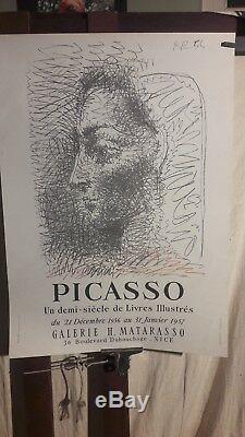 Affiche Picasso 1957 Matarasso Nice Illustrations De Livres