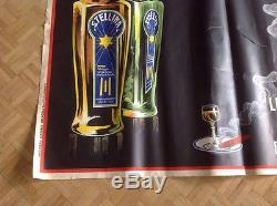 Affiche Poster Stellina Liqueur Alcohol Andry Farcy Bottle'26 Cigare Wine Cigar