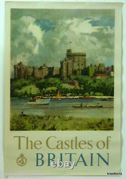 Affiche Pub The Castles Of Britain Windsor Castle 1950
