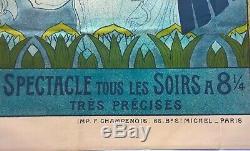 Affiche Ramsès Théâtre Égyptien Exposition Universelle 1900 P. A. Laurens