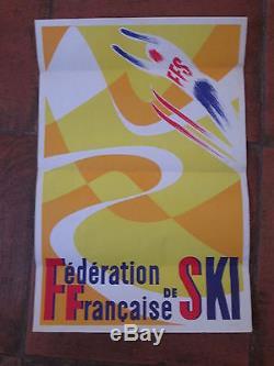 Affiche Ski Ffs Graphique
