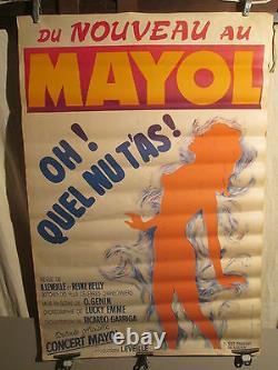 Affiche Spectacle Mayol Nus Cabaret