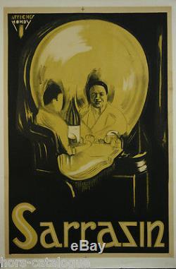 Affiche Spectacle, Sarrazin, Affiches Mondy. Tête de mort, crane
