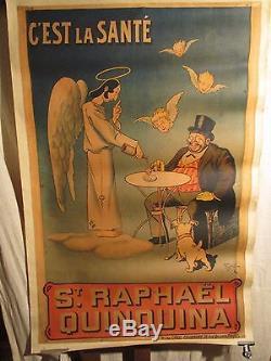 Affiche St Raphael Angelot Buveur Marrante